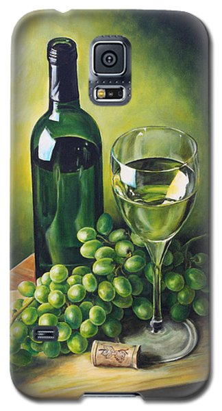 Grapes And Wine Galaxy S5 Case by Kim Lockman