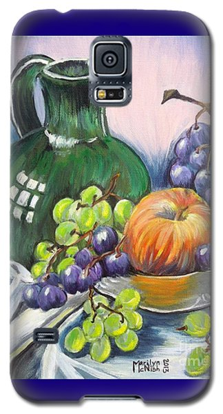 Grapes Galore Galaxy S5 Case by Marilyn  McNish