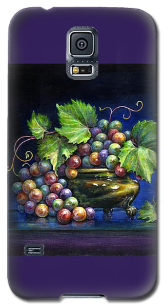 Grapes In A Footed Bowl Galaxy S5 Case