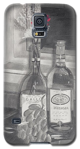 Grapes N Flowers Galaxy S5 Case