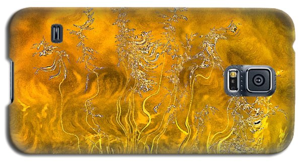 Grass Morning Sunlight Galaxy S5 Case by Odon Czintos
