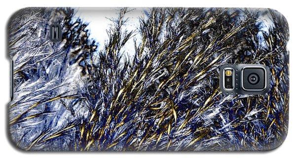 Grass Solarisation Galaxy S5 Case by Rudi Prott