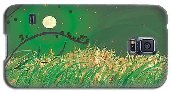 Grasses In The Wind Galaxy S5 Case