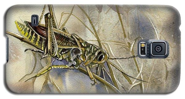 Grasshopper Watercolor Galaxy S5 Case