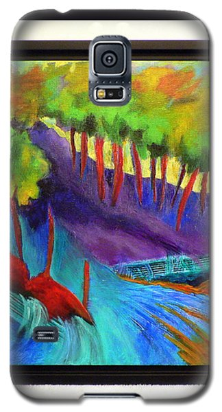 Grate Mountain Galaxy S5 Case by Elizabeth Fontaine-Barr