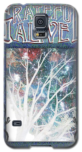 Galaxy S5 Case featuring the digital art Grateful Alive Tree Of Live by John Fish