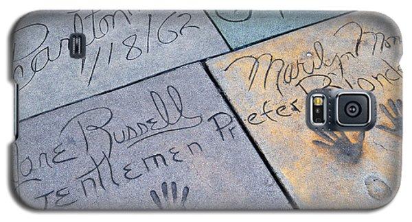 Grauman's Chinese Theatre Marilyn Monroe Galaxy S5 Case