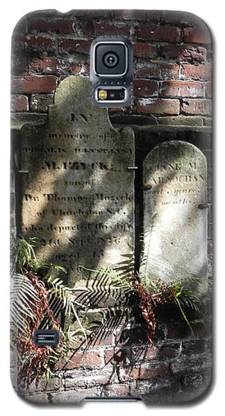 Grave Stones With Fern Galaxy S5 Case by Patricia Greer