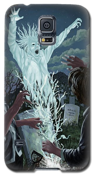 Graveyard Digger Ghost Rising From Grave Galaxy S5 Case