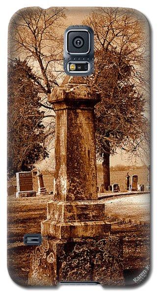 Graveyard In Sepia Galaxy S5 Case