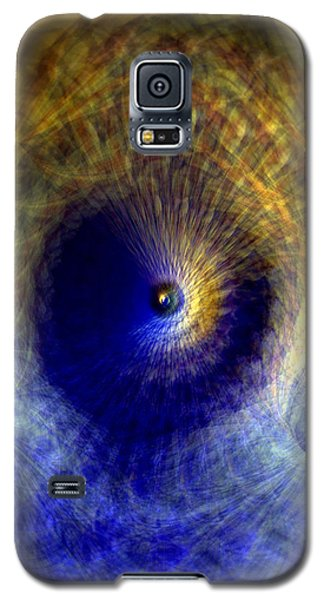 Galaxy S5 Case featuring the photograph Gravitation by Martina  Rathgens