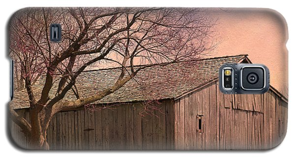 Gray Campbell Farmstead Barn Galaxy S5 Case