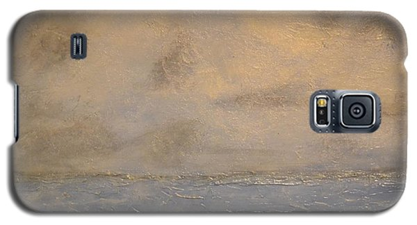Galaxy S5 Case featuring the painting Gray Dawn by Lori Jacobus-Crawford
