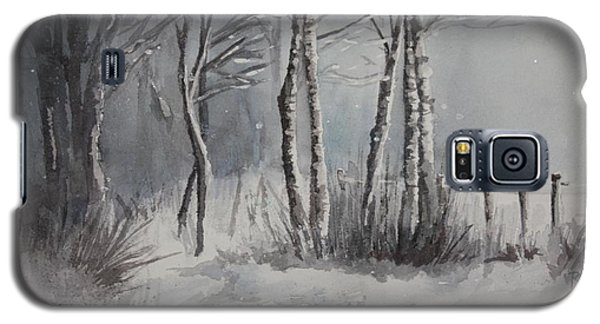 Gray Forest Galaxy S5 Case