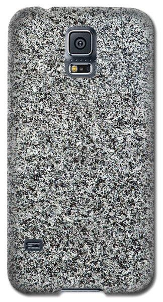 Gray Granite Galaxy S5 Case by Alexander Senin