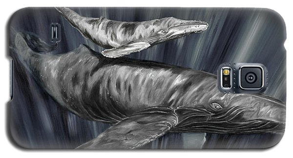 Gray Whales Galaxy S5 Case