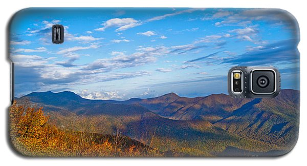 Galaxy S5 Case featuring the photograph Graybeards Mountain by Debra Crank