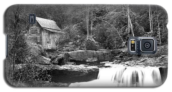 Grayscale Mill And Waterfall Galaxy S5 Case by Robert Camp