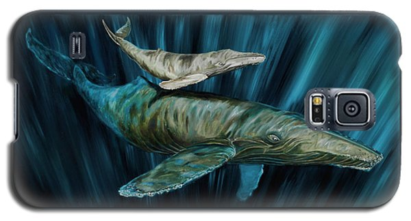 Graywhale Momma And Calf Galaxy S5 Case