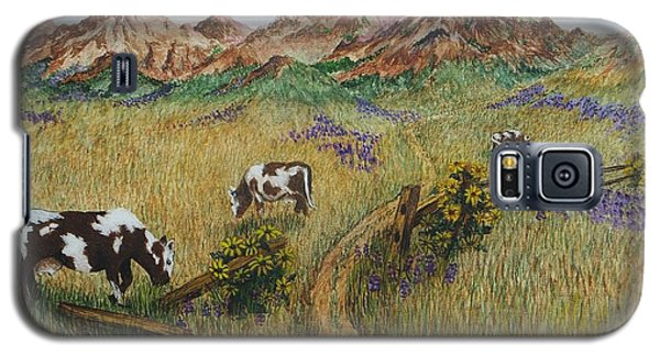 Grazing Cows Galaxy S5 Case by Katherine Young-Beck