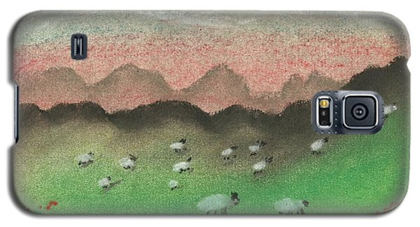 Grazing In The Hills Galaxy S5 Case