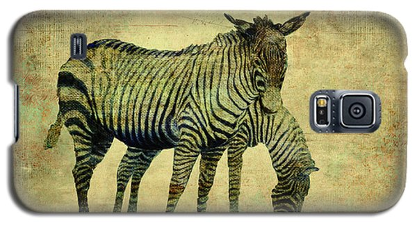 Grazing Zebras Galaxy S5 Case