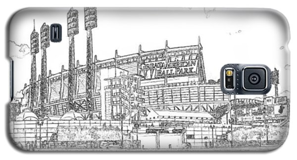 Great American Ball Park Line Galaxy S5 Case