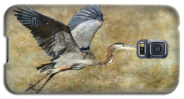 Great Blue Heron 2 Galaxy S5 Case