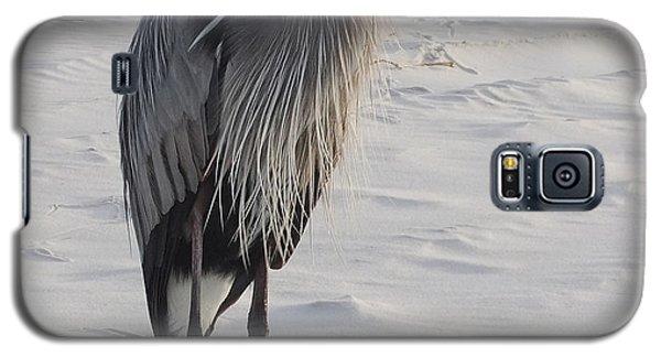 Galaxy S5 Case featuring the photograph Great Blue Heron by Deborah DeLaBarre