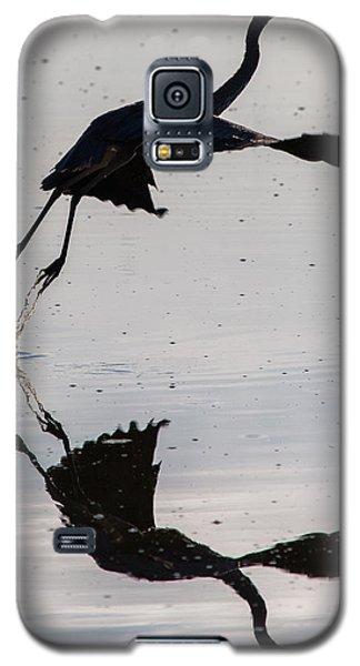 Great Blue Heron Takeoff Galaxy S5 Case