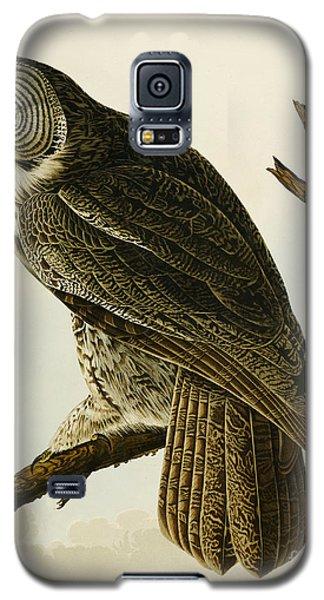 Audubon Galaxy S5 Case - Great Cinereous Owl by John James Audubon