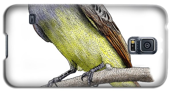 Great Crested Flycatcher Galaxy S5 Case by Roger Hall