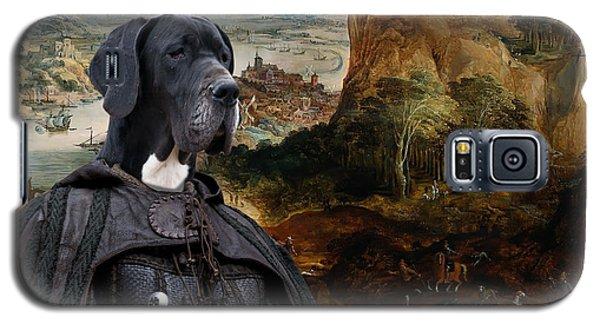 Great Dane Art - The Boar Hunt Galaxy S5 Case