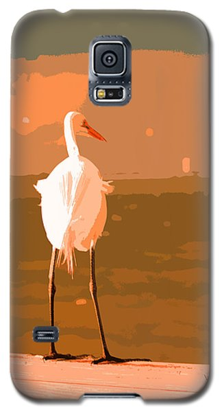 Great Egret Galaxy S5 Case