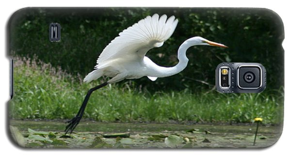 Great Egret Elegance   Galaxy S5 Case