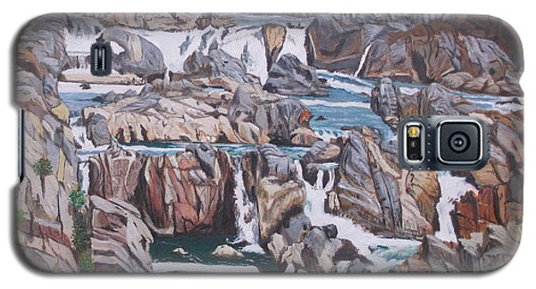 Great Falls 1 Galaxy S5 Case by Hilda and Jose Garrancho