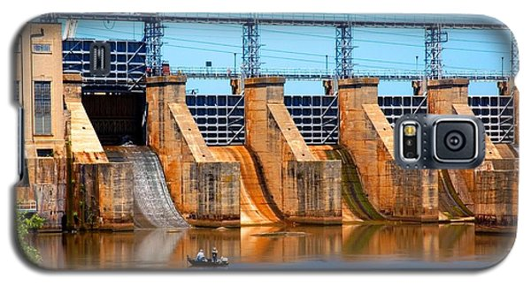 Great Falls Dam Galaxy S5 Case by Bob Pardue