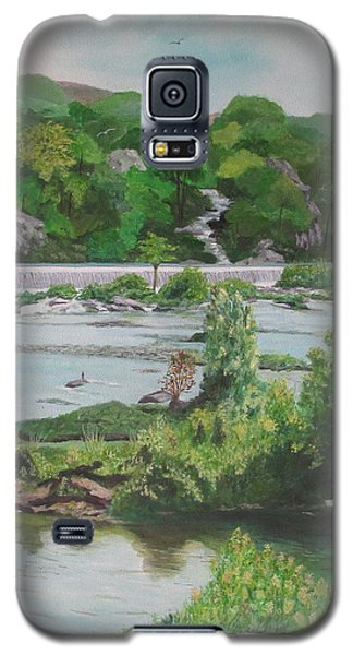 Great Falls II Galaxy S5 Case by Hilda and Jose Garrancho