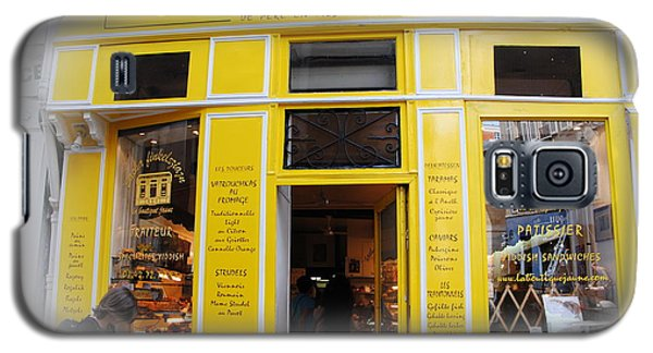 Galaxy S5 Case featuring the photograph Great Food In Marais by Jacqueline M Lewis