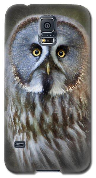 Great Grey Owl Galaxy S5 Case by Ian Merton