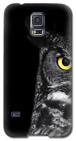 Great Horned Owl Photo Galaxy S5 Case by Stephanie McDowell