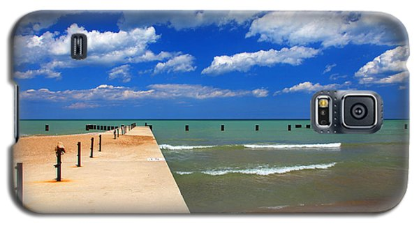 Great Lake Horizon Clouds Galaxy S5 Case
