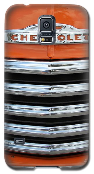 Galaxy S5 Case featuring the photograph Great Pumpkin Chevrolet by Dodie Ulery