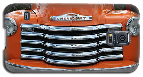 Galaxy S5 Case featuring the photograph Great Pumpkin Chevrolet II by Dodie Ulery