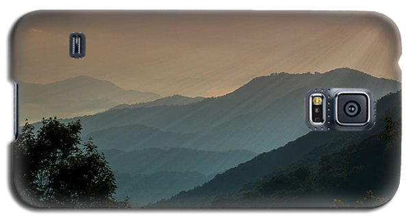 Great Smoky Mountains Blue Ridge Parkway Galaxy S5 Case by Patti Deters