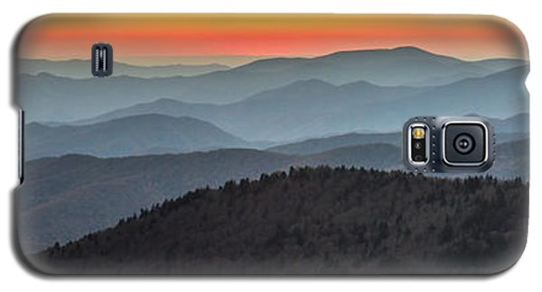 Great Smoky Mountains National Park Sunset Galaxy S5 Case