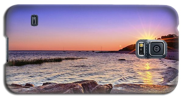 Galaxy S5 Case featuring the photograph Saints Landing Cape Cod by Mike Ste Marie