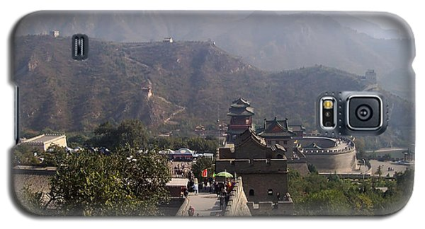 Great Wall Of China At Badaling Galaxy S5 Case by Debbie Oppermann
