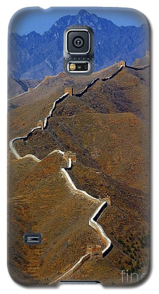 Great Wall Of China Galaxy S5 Case by Henry Kowalski