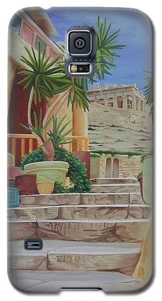 Galaxy S5 Case featuring the painting Greece by Joshua Morton